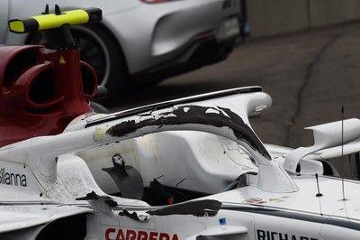 """F1ベルギーGPの大クラッシュで実証された""""ハロ""""の有用性"""