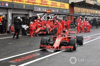 フェラーリ、戦略ミスで予選上位を逃す。ライコネンは燃料不足で最終アタックできず|F1ベルギーGP予選