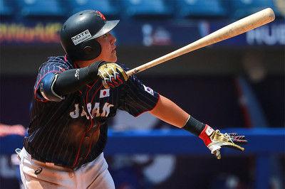 【侍U-23代表】ロッテ安田が大会MVP&ベストナインに輝く打率.393、1本塁打8打点の活躍