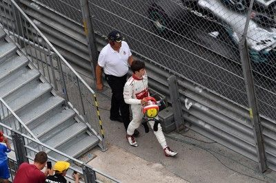ハートレーに追突のルクレール「トロロッソの駆け引きに悩まされたレースだった」