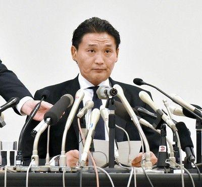 貴親方の「引退届」協会受理せず 「退職届が必要」と芝田山広報部長