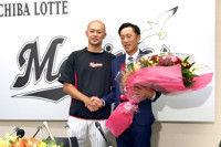 【ロッテ】岡田引退の理由は「以前は追いついていた打球に追いつけなくなった」