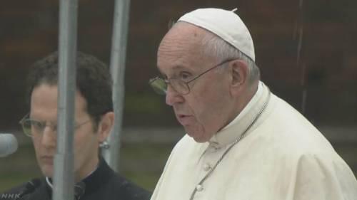 ローマ教皇 信者 暴力 ブチギレ キリスト教 カトリックに関連した画像-01