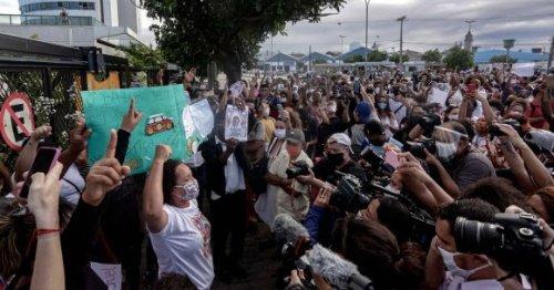 ブラジル 黒人 差別 デモ 言いがかりに関連した画像-01