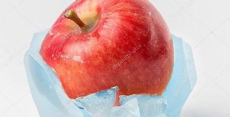 ゴーストアップル りんご 氷 自然に関連した画像-01