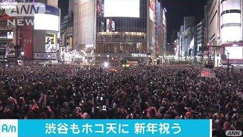 渋谷 年越し カウントダウン 飲酒禁止に関連した画像-01