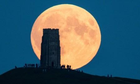 1/21 満月 スーパームーン 皆既月食 スーパー・ブラッド・ウルフムーンに関連した画像-01