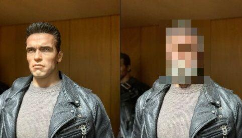 ターミネーター 老け顔アプリ フィギュアに関連した画像-01