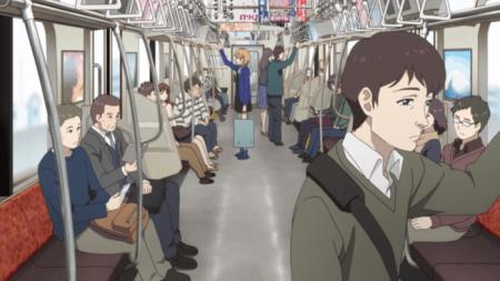 電車 女性 席を譲る 男性 跨ぐに関連した画像-01