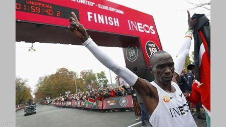エリウド・キプチョゲ ケニア マラソン 2時間の壁 突破に関連した画像-01