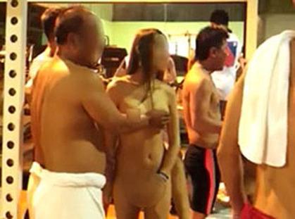 finnish women naked in sauna