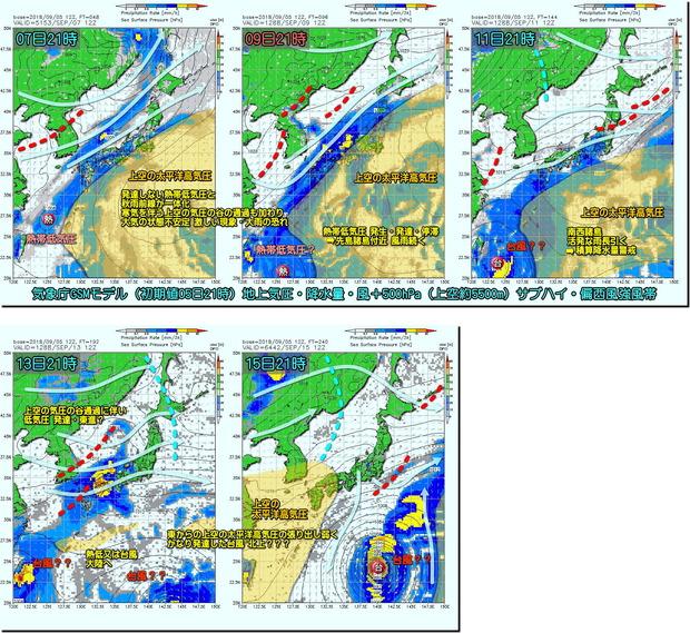 台風GSM180906