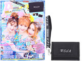 Popteen (ポップティーン) 2019年 08月号 《付録》 RASVOA(ラスボア)ロゴストラップつき三つ折り財布