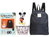 Disney Mickey Mouse 90th Anniversary box book 《付録》 おでかけしたくなる3点セット