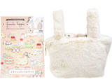 franche lippee 20th Anniversary Book 《付録》 しろうさぎ形ファーバッグ