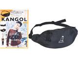 KANGOL × Ken Kagami WAIST POUCH BOOK 《付録》 ウエストポーチ+特製ステッカー