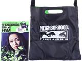 NEIGHBORHOOD×P.A.M. 《付録》 2点セット レコードバッグ&キーホルダー