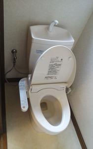 1階トイレ:貸家3号