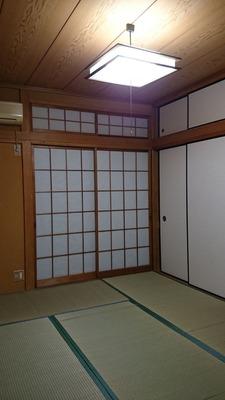 貸家1号:1階和室完成