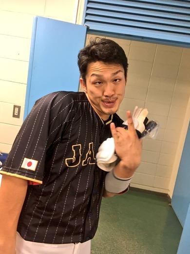 鈴木誠也日本代表35