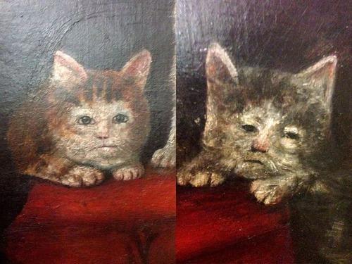 中世の絵画に登場する「猫」00
