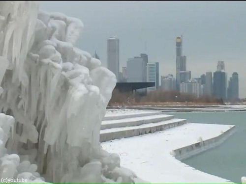 シカゴに大寒波00