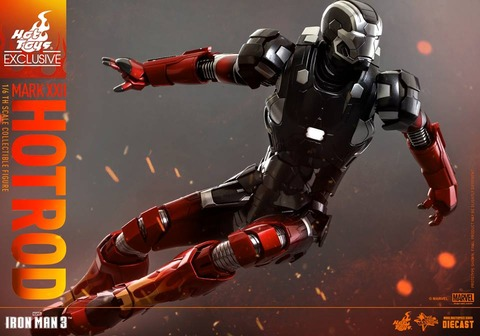 Hot-Toys-Iron-Man-3-Mark-XXII-Hot-Rod-Armor-003
