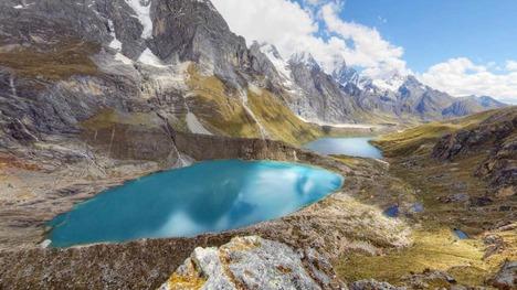 130222ワイワッシュ山群の湖@ペルー