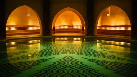 140114ハッサン2世モスク@モロッコ カサブランカ