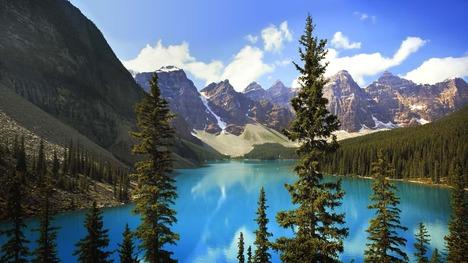 131002モレーン湖@カナダ アルバータ州