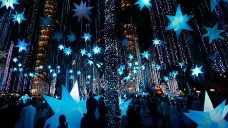 121222南国を飾るクリスマス