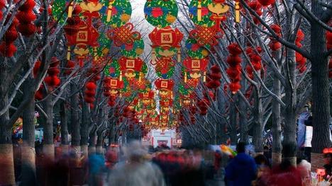 130210春節の地壇@中国 北京
