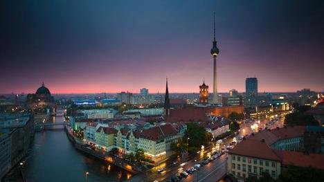 140502夜のベルリン市街@ドイツ ベルリン