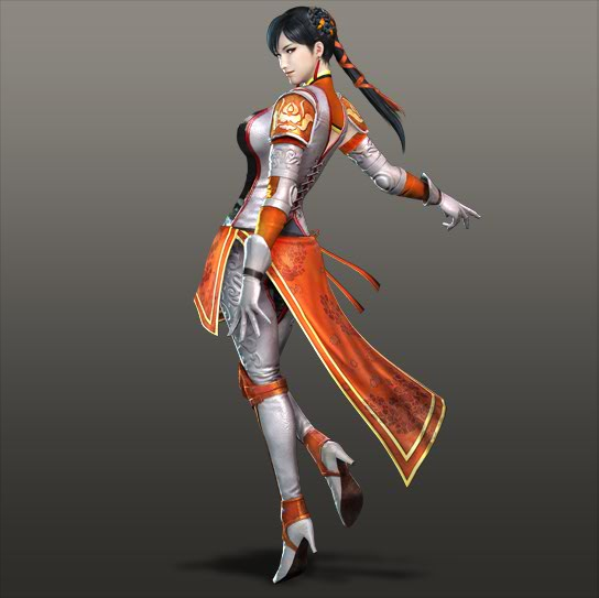 Female Warriors Characters Dynasty