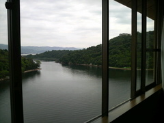 ホテル九重(部屋からの景観)