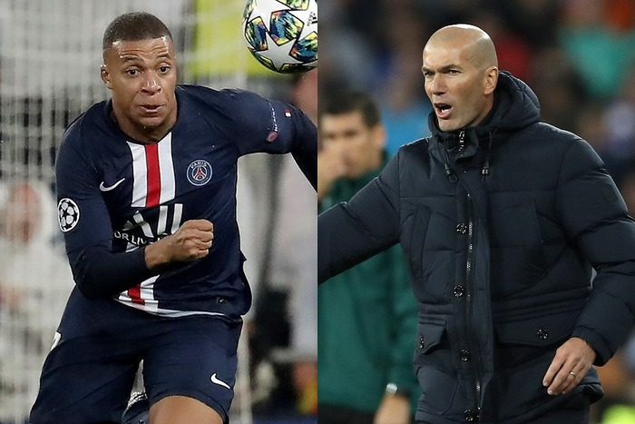 20191128_Mbappe_Zidane_Getty