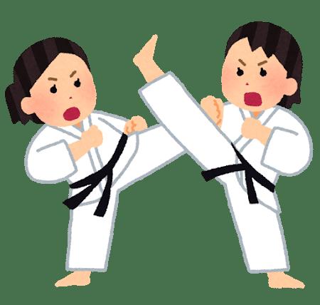 sports_karate_woman