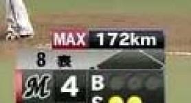 サファテ172km毎時