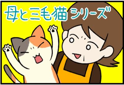 母と三毛猫シリーズ