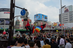 東京大行進
