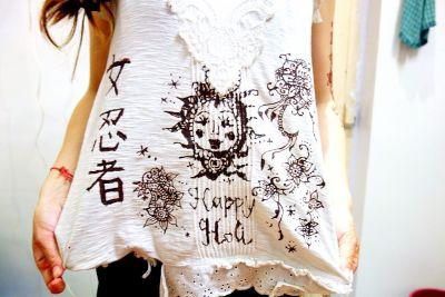 ホーリー祭(バラナシ)白い服