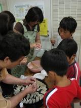 餃子の作り方教室