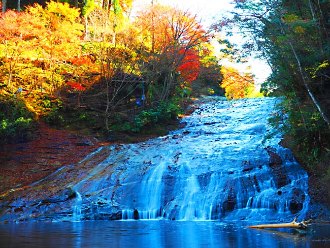 「栗又の滝 紅葉」の画像検索結果
