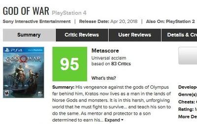 God of War for PlayStation 4 Reviews -