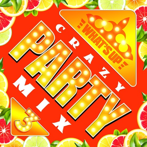 WU_Crazy Party Mix 3_ジャケ