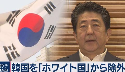 韓国「ホワイト国除外による海外の反応」 (1)