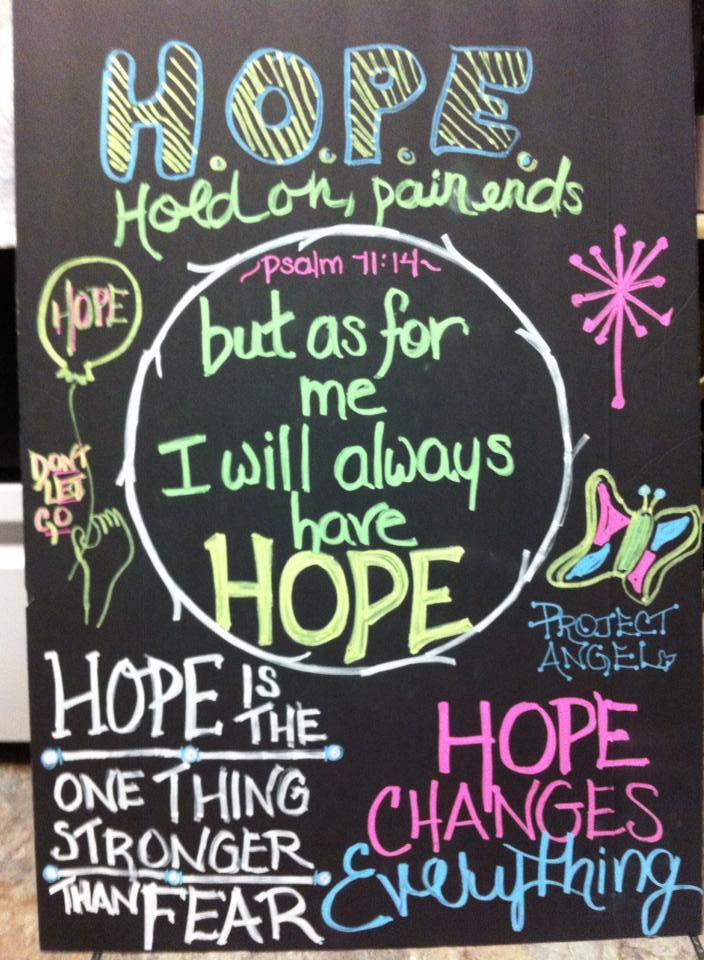 Hope by Lisa Teasdale