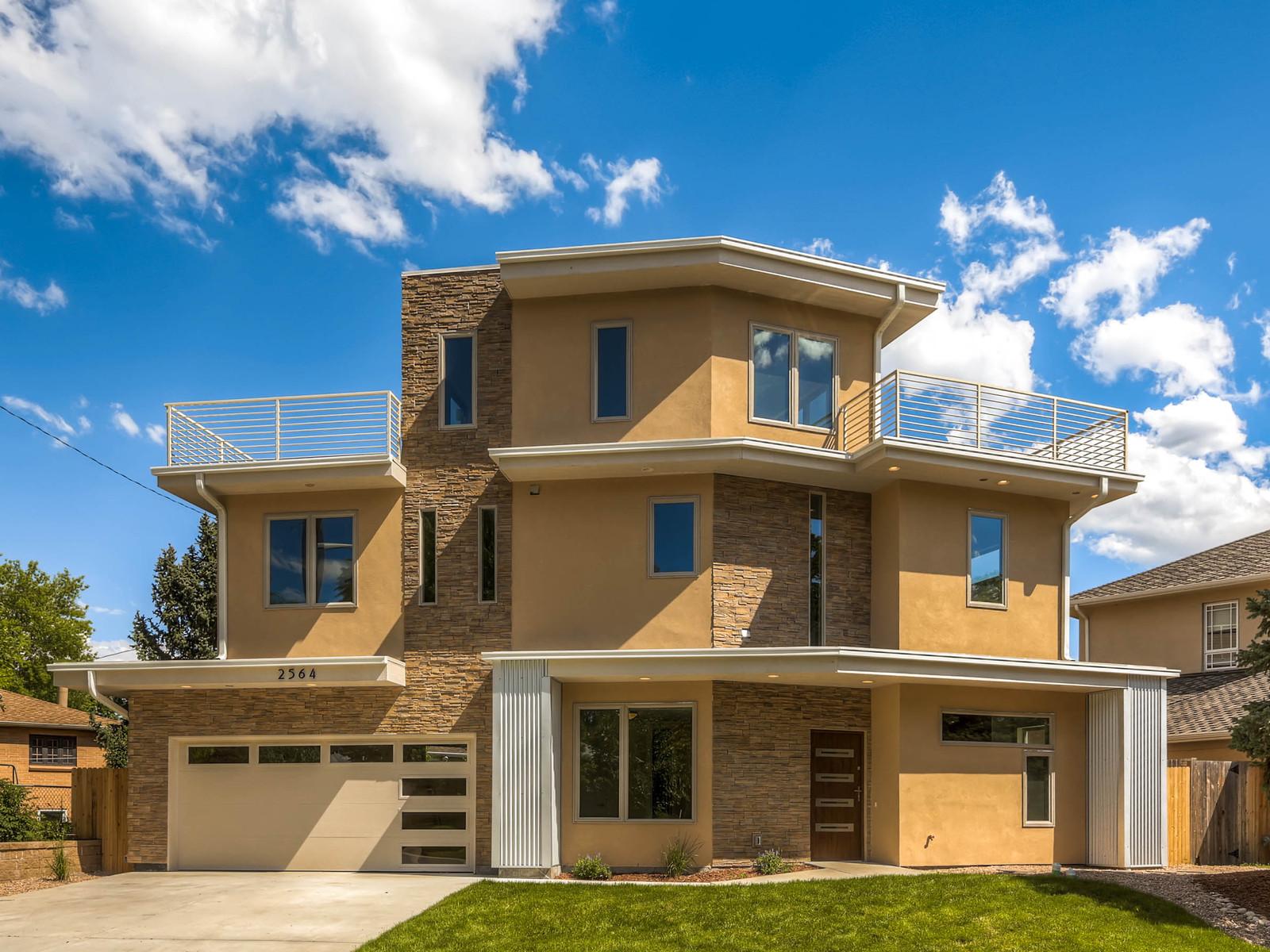 Ultramodern Custom Architecture In Denver