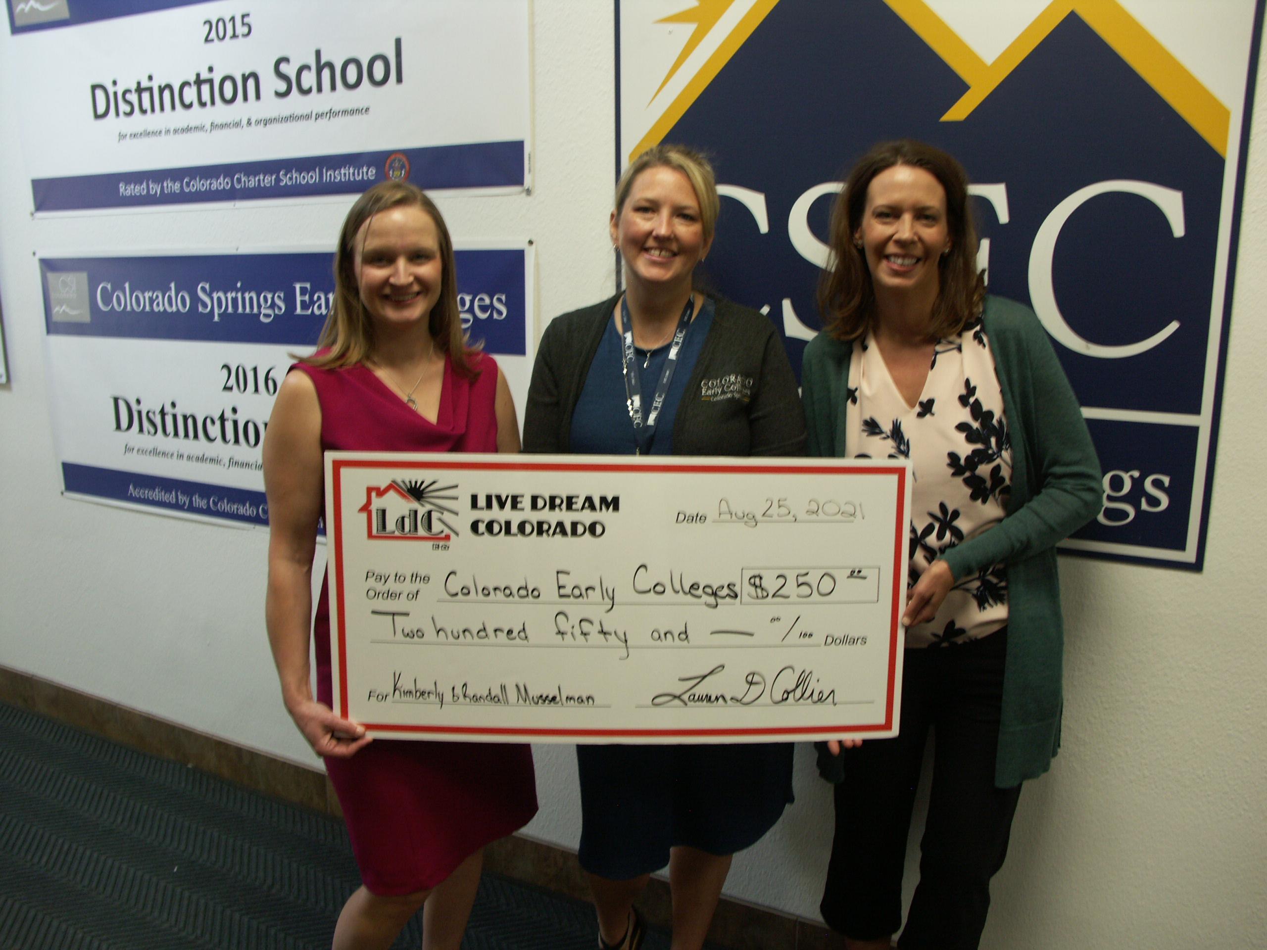 Colorado Early Colleges Colorado Springs Benefits From Teacher Program