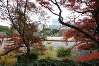 View next to the Fujimi-Tamon Defence-house